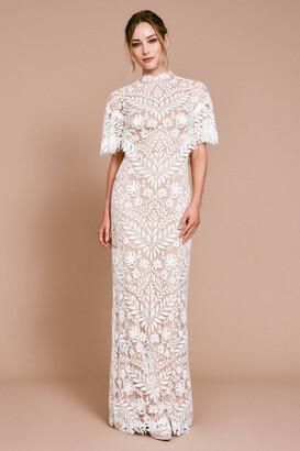 Tadashi Shoji Glinda High Neck Gown