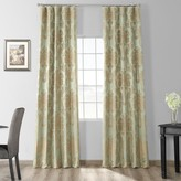 Eff EFF 1-Panel Magdelena Faux Silk Jacquard Window Curtain