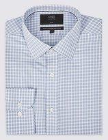 M&s Collection Pure Cotton Non-iron Slim Fit Shirt