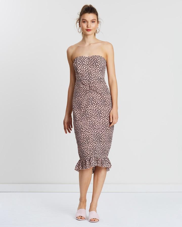 Atmos & Here Naya Strapless Dress