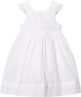 Cyrillus White Frill Sleeve Dress