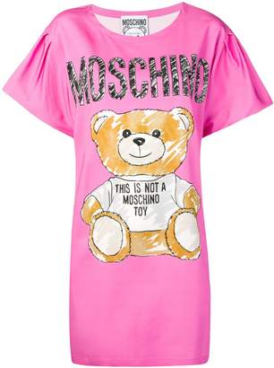 Moschino Brushstroke Teddy Bear dress