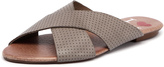 I Love Billy Irun Taupe Pin Punch Leather