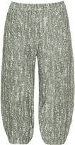 Isolde Roth Plus Size Linen balloon shaped trousers