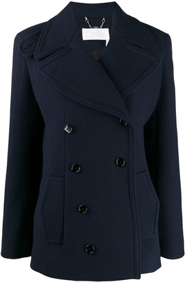Chloé tailored pea coat