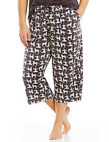 Sleep Sense Plus Cheetahs Capri Sleep Pants