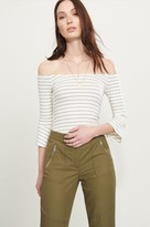 Dynamite Off-The-Shoulder Top with Bell Sleeves