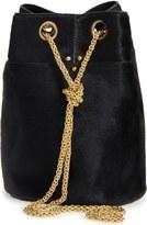Jerome Dreyfuss 'Small Popeye' Genuine Calf Hair Bucket Bag