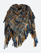 Fat Face Woven Triangle Scarf