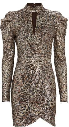 Jonathan Simkhai Mallory Sequinned Mini Dress