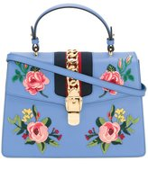 Gucci Sylvie tote - women - Cotton/Leather/metal - One Size