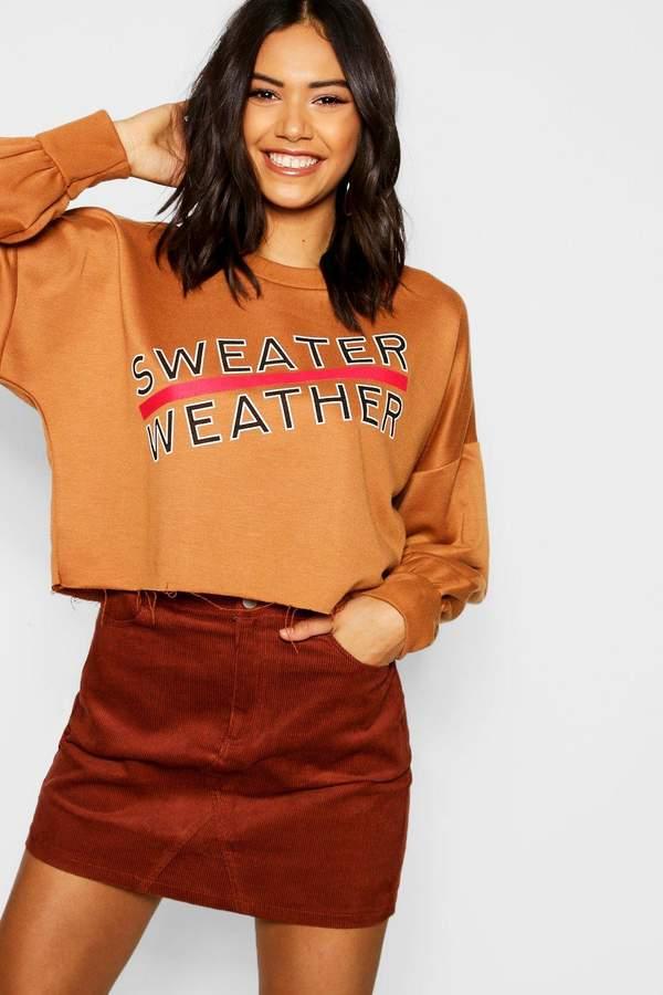 ece5963608da45 boohoo Brown Skirts - ShopStyle Australia