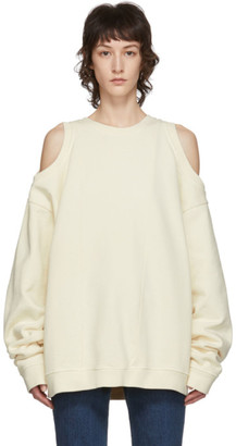 Maison Margiela Beige Decortique Sweatshirt