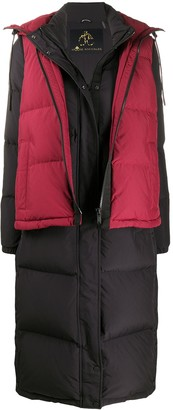 Moose Knuckles Padded Zip-Up Down Jacket