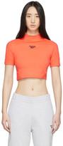 Reebok Classics Orange Classics Crop T-Shirt