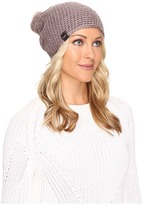 UGG Crochet Beanie with Lurex/Sequins/Toscana Pom