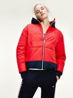 Tommy Hilfiger Padded Cropped Jacket