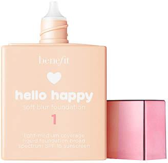 Benefit Cosmetics Hello Happy Soft Blur Foundation