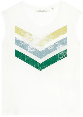 June 7.2 - Hayden Logo Cracked Tee - White - cotton | white | medium - White/White