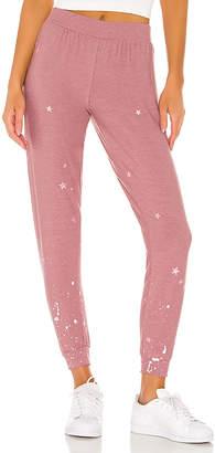 Chaser Pinky Stars Sweatpant