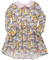 Paade Animal Printed Cotton Poplin Dress