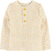 Moulin Roty Light poplin blouse