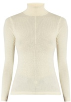 Frame Cashmere roll-neck sweater