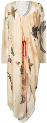 Vionnet printed wrap dress