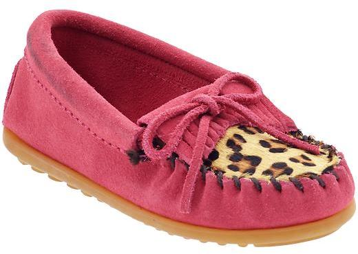 Minnetonka Moccasin Leopard Kilty (Infant/Toddler/Youth)