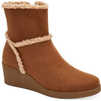 Style&Co. Style & Co Jordanyy Wedge Ankle Booties, Women Shoes