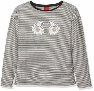 S'Oliver Girls' 53.809.31.8214 Longsleeve T-Shirt