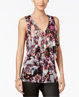 Thalia Sodi Cutout-Back Necklace Top, Only at Macy's
