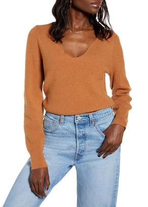 Leith Shaped Neck Sweater