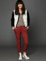 Free People Embroidered Trouser