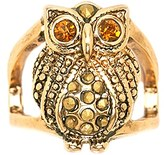 Forever 21 FOREVER 21+ Rhinestone Owl Ring
