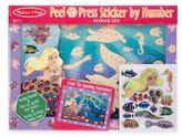 Melissa & Doug Mermaid Reef Peel & Press Sticker by Number