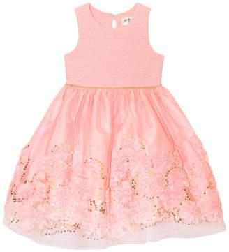 Nannette Baby Girls Sleeveless Party Dress - Toddler