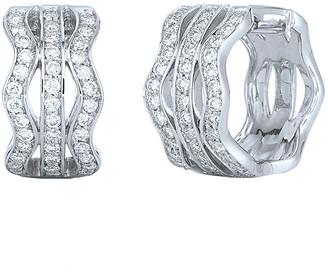 Kwiat Wave 18K 0.94 Ct. Tw. Diamond Earrings