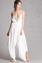 Forever 21 FOREVER 21+ Z & L Europe Beaded Jumpsuit