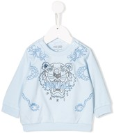 Kenzo embroidered logo sweater