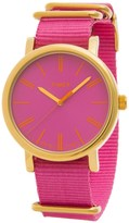 Timex Style Originals Modern Watch - 38mm, Nylon Strap (For Women)