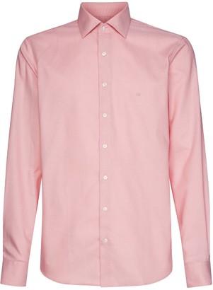 Calvin Klein Logo Cotton Shirt