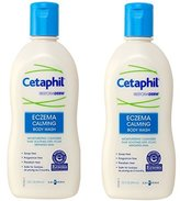 Cetaphil Restoraderm, Eczema Calming Body Wash, 10 Ounce (Pack of 2)
