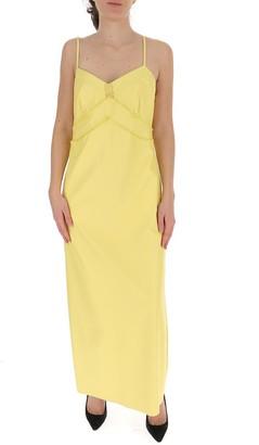 MM6 MAISON MARGIELA Faux Leather Slip Dress