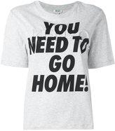 Kenzo You need to go home print T-shirt