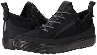 Ecco Soft 7 Tred Zip GORE-TEX(r) Sneaker (Black) Women's Shoes
