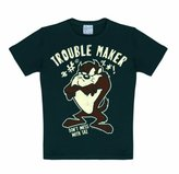 Logoshirt Unisex Baby 80/86 Kids Looney Tunes Trouble Maker T-Shirt for 18 Months