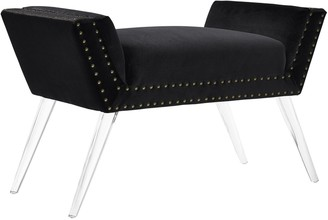 Linon Allie Upholstered Vanity Bench