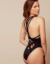 Agent Provocateur Keia Swimsuit Black