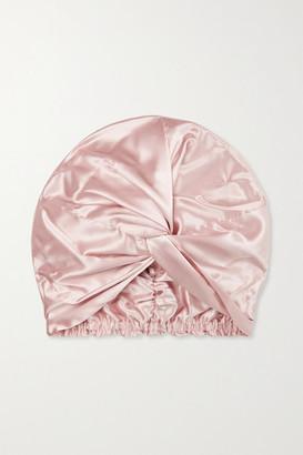 Slip Pure Silk Turban - Pink